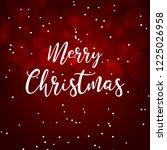 merry christmas. pig. 2019. new ... | Shutterstock .eps vector #1225026958