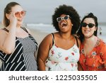 Cheerful Diverse Plus Size...