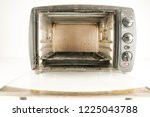 small electric oven | Shutterstock . vector #1225043788
