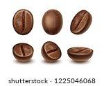 vector set of realistic fresh... | Shutterstock .eps vector #1225046068