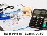house and stethoscope  economic ...