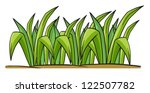 illustration of grass on a... | Shutterstock .eps vector #122507782