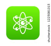 atom with electrons icon... | Shutterstock .eps vector #1225081315