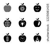 tracing icons set. simple set... | Shutterstock .eps vector #1225081435