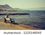 the city of turgutreis   bodrum ... | Shutterstock . vector #1225148545