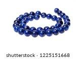 the lapis lazuli stone bracelet ... | Shutterstock . vector #1225151668