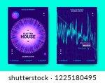 electronic music movement...   Shutterstock .eps vector #1225180495