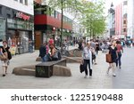 leipzig  germany   may 9  2018  ... | Shutterstock . vector #1225190488