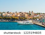 beautiful view on sea front of... | Shutterstock . vector #1225194835