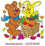 rich harvest   Shutterstock .eps vector #12252040