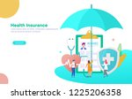 healthcare insurance vector...