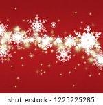 2d illustration. abstract... | Shutterstock . vector #1225225285