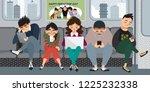 vector illustration set of...   Shutterstock .eps vector #1225232338
