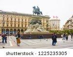 italy  milan   november 1  2018 ... | Shutterstock . vector #1225235305