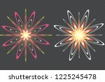 the stars are made of oval.... | Shutterstock .eps vector #1225245478