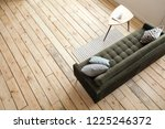 from above shot of comfortable... | Shutterstock . vector #1225246372