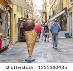 3 november 2018   monaco ... | Shutterstock . vector #1225330435