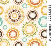 floral seamless pattern | Shutterstock .eps vector #122533588