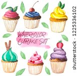 watercolor illustration ... | Shutterstock . vector #1225336102