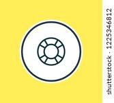 vector illustration of lifebuoy ...   Shutterstock .eps vector #1225346812