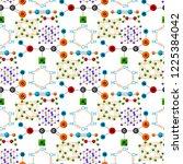 molecular structure medical...   Shutterstock .eps vector #1225384042