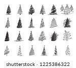 christmas tree for christmas   Shutterstock .eps vector #1225386322