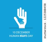 human rights vector | Shutterstock .eps vector #1225388458