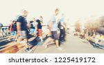 crowd of people in a shopping...   Shutterstock . vector #1225419172