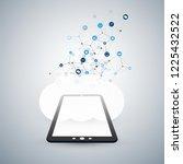 internet of things  cloud...   Shutterstock .eps vector #1225432522