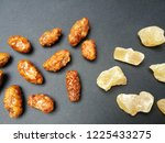 caramelized almonds and candied ... | Shutterstock . vector #1225433275