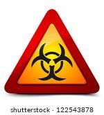 biohazard sign | Shutterstock .eps vector #122543878