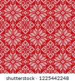 ugly sweater merry christmas... | Shutterstock . vector #1225442248