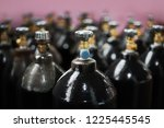 cilinder with carbon dioxide.... | Shutterstock . vector #1225445545