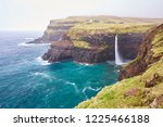 scenic landscape picture on... | Shutterstock . vector #1225466188