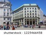 vienna  austria   may 7  2016 ... | Shutterstock . vector #1225466458