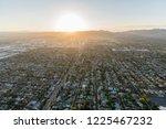 aerial view towards lassen st... | Shutterstock . vector #1225467232