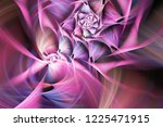 Abstract Exotic Pink Flower....