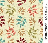 Seamless Pattern With Plant...