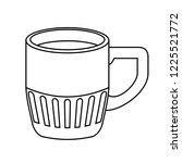 delicious coffee cup drink icon   Shutterstock .eps vector #1225521772