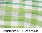 green and white checkered... | Shutterstock . vector #1225526185