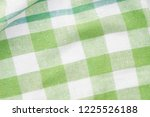 green and white checkered... | Shutterstock . vector #1225526188