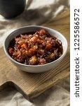 homemade sweet maple bacon...   Shutterstock . vector #1225586572