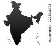 india map vector   Shutterstock .eps vector #1225618708