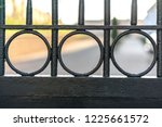 Black Classic Fence With Round...