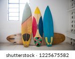 Multiple Surfboards Staying By...
