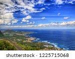 north west coast of tenerife ... | Shutterstock . vector #1225715068