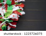 festive christmas holiday red ... | Shutterstock . vector #1225726075