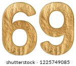 numeral 69  sixty nine ... | Shutterstock . vector #1225749085