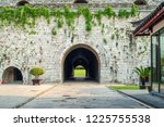 the traditional gate of nanjing ... | Shutterstock . vector #1225755538