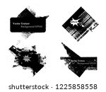 ink splash background . black... | Shutterstock .eps vector #1225858558